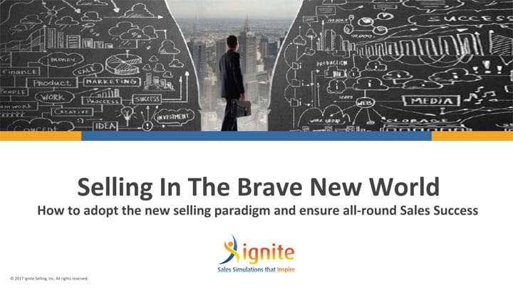 presentation selling in the brave new world