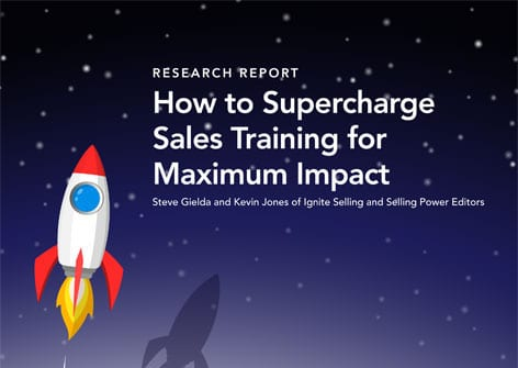 how to super charge sales training