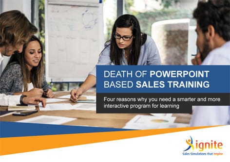 Death of PowerPoint Based Sales Training
