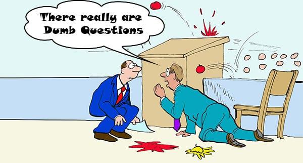 bad questions cartoon