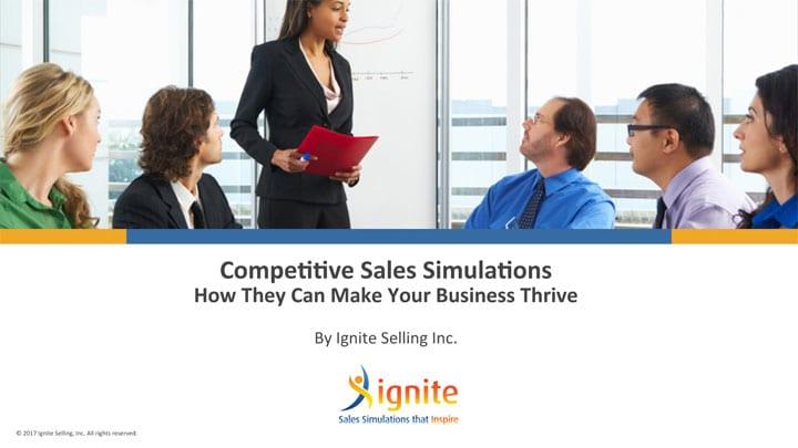 competitive sales simulations presentation