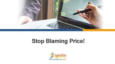 Stop Blaming Price