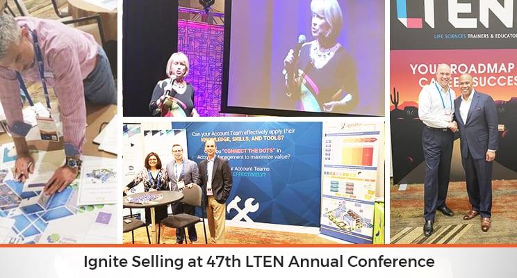 ignite selling at lten 2018