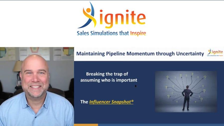 Influencer Snapshot – Maintaining Pipeline Momentum Through Economic Uncertainty