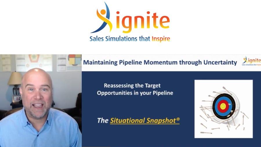 Situational Snapshot – Maintaining Pipeline Momentum Through Economic Uncertainty