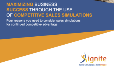 Maximizing Business Success Through the Use of Competitive Sales Simulations