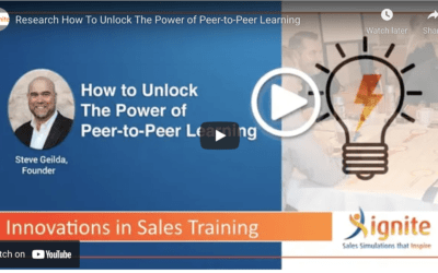 How To Unlock The Power of Peer-to-Peer Learning
