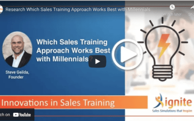 Which Sales Training Approach Works Best with Millenials?