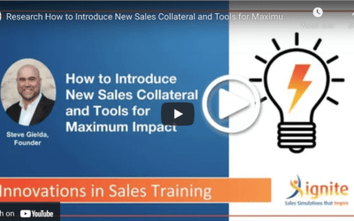 How to Introduce New Sales Collateral and Tools for Maximum Impact
